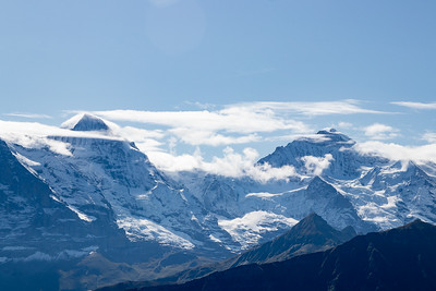 Left Monch, Right Jungfrau