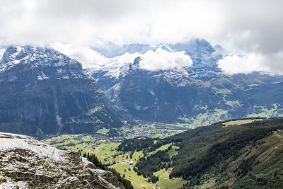 Looking Down at Grindelwald