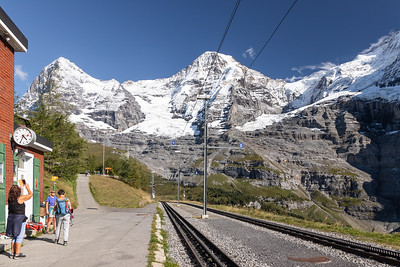 Wengernalp Train Station