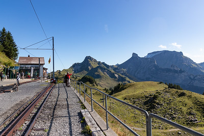 Schynige Platte Train Top Station