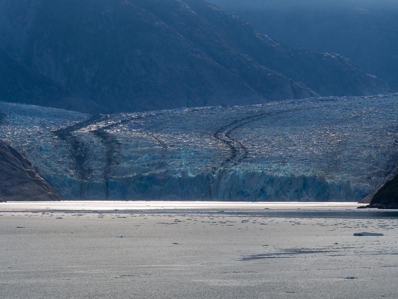 Face of Dawes Glacier
