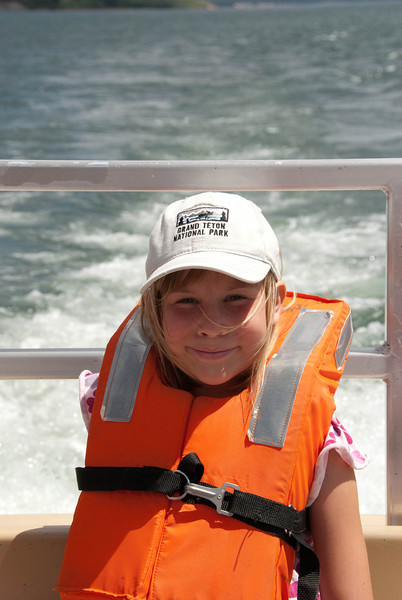Emma on the Boat