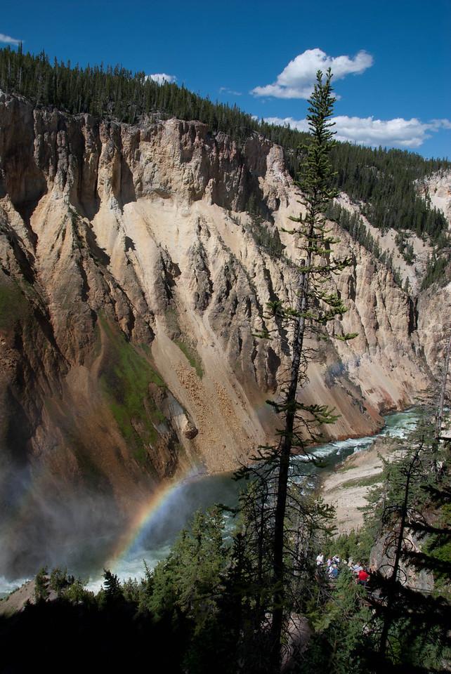 Spray, Lower Falls, Yellowstone River