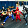 Arana, Spider-Man, and Venom
