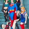 Jason Voorhees, Freddy Krueger, Superman, Michael Myers, and Chucky