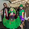 Harley Quinn, Joker, Riddler, and Scarecrow