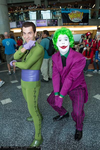 Riddler and Joker