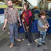 Joel, Ellie, and Carl Grimes
