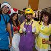 Magikoopa, Toad, Wario, and Princess Daisy