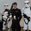 Sandtrooper, Imperial Officer, and Stormtrooper