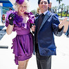 Effie Trinket and Caesar Flickerman