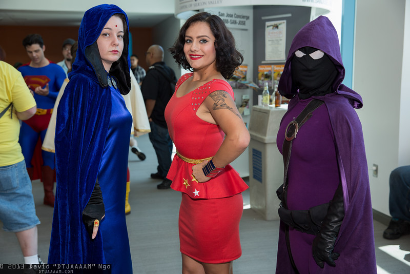 Raven, Wonder Girl, and Spoiler
