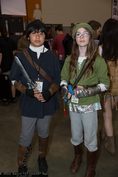 Dark Link and Link