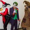 Harley Quinn, Joker, and Scarecrow