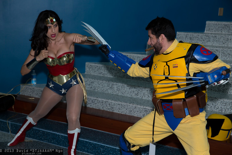 Wonder Woman and Wolverine