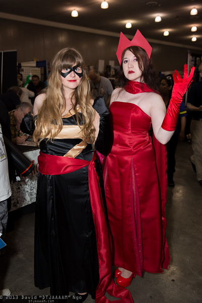 Ms. Marvel and Scarlet Witch