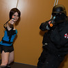 Jill Valentine and Umbrella Trooper
