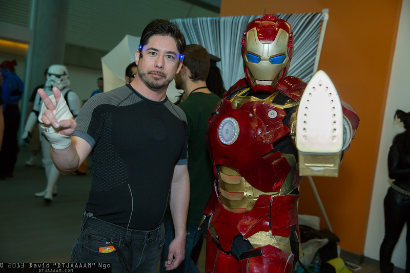 Tony Stark and Iron Man