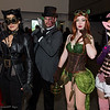 Catwoman, Two-Face, Poison Ivy, and Star Sapphire