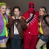 Joker, Wolverine, Deadpool, and Rogue