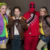 Joker, Wolverine, Deadpool, and Rogue