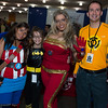 Captain America, Batgirl, Iron Man, and Sinestro