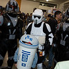 Clone Commandos, R2-D2, and Scout Trooper