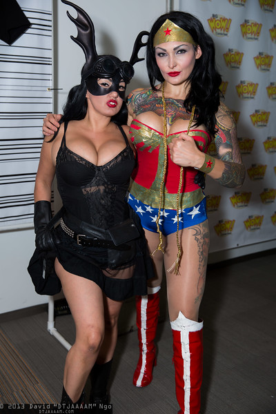 Fearless Dawn and Wonder Woman