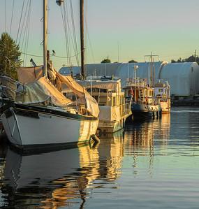Ballard sunrise