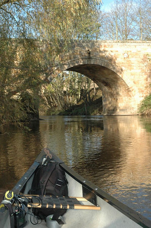 Canoeing the River Tweed