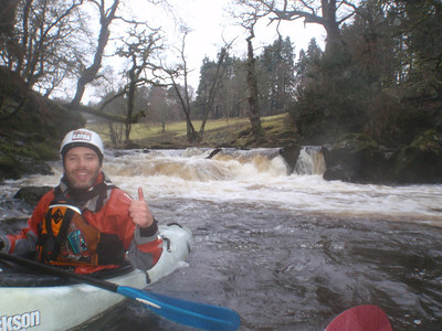 Kayaking the Lower Treweryn