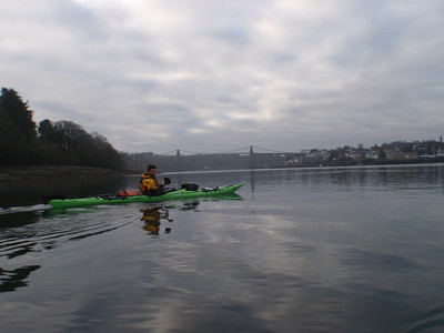 Sea Kayaking the Menai Strait