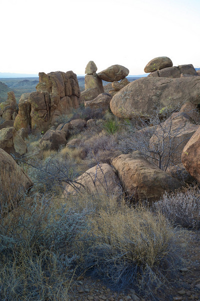 Balanced Rock - Grape Vine Hills<br /> Big Bend National Park<br /> Texas - March 2011