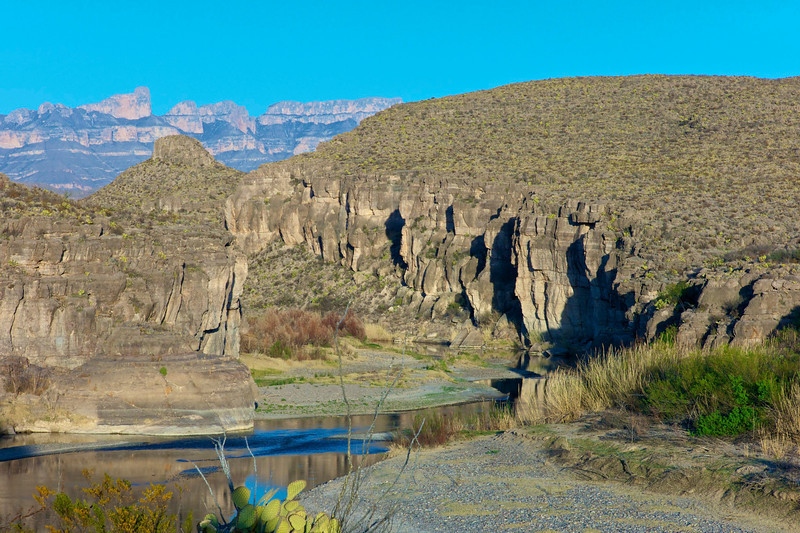Hot Springs Canyon III<br /> Big Bend National Park<br /> Texas - March 2011
