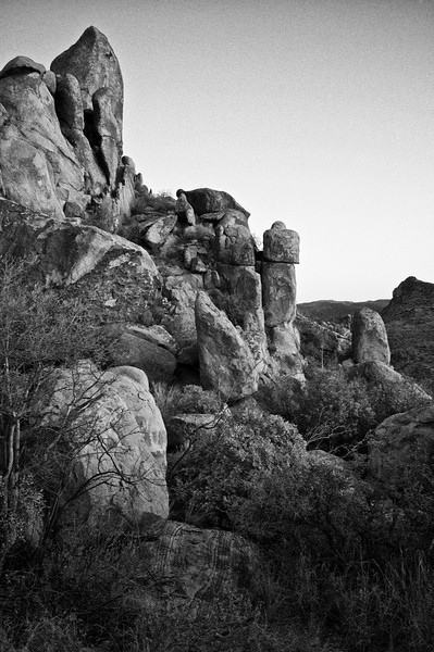 Grape Vine Hills Peak<br /> Big Bend National Park<br /> Texas - March 2011