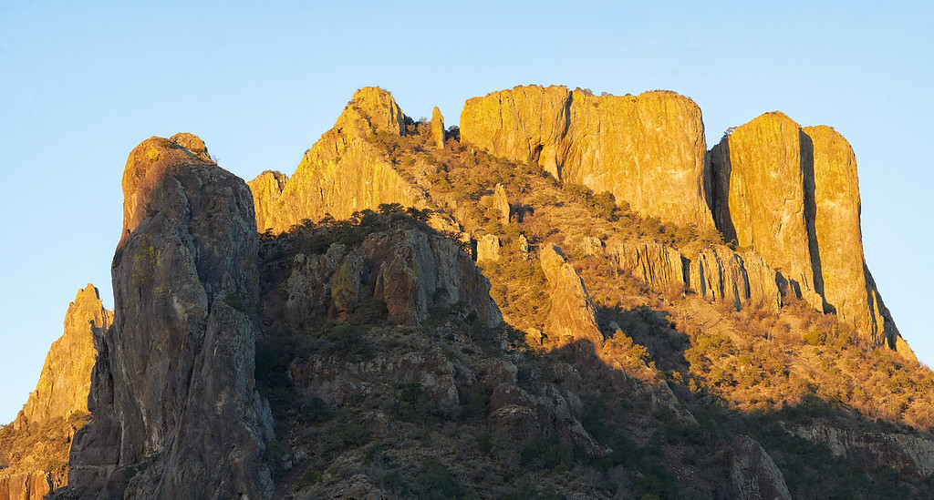 Casa Grande <br /> Big Bend National Park<br /> Texas<br /> March 2013