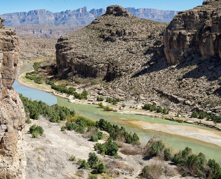 Hot Springs Canyon<br /> Big Bend National Park<br /> Texas<br /> 3-2013