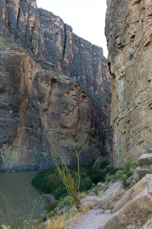 Santa Elena Canyon<br /> Big Bend National Park<br /> Texas<br /> 2010