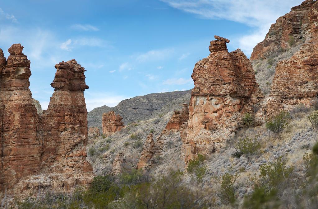 Blue Creek Canyon<br /> Big Bend National Park<br /> Texas<br /> 2013