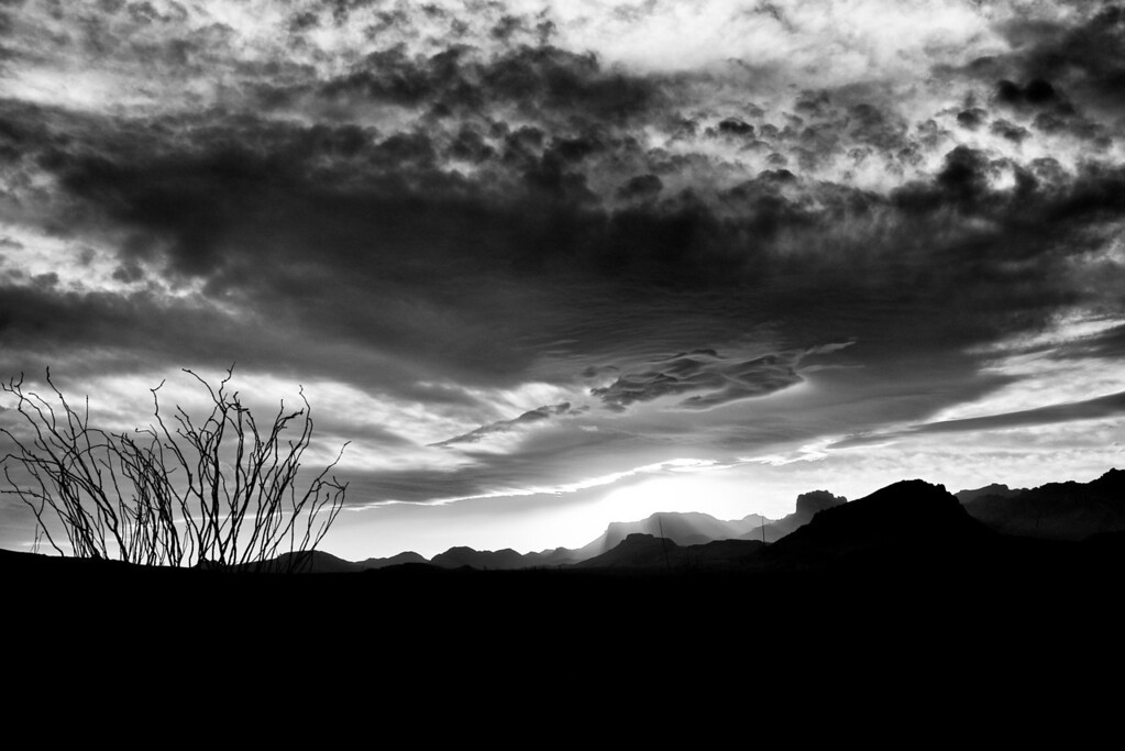 Arrival<br /> Chisos Mountain Sunset<br /> Big Bend National Park<br /> Texas<br /> 2013