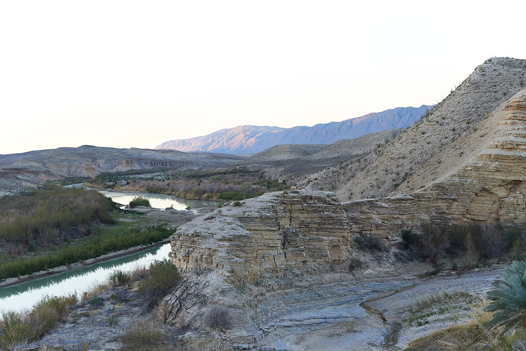 Hot Springs Canyon at Sunrise<br /> Big Bend National Park<br /> Texas<br /> 2013