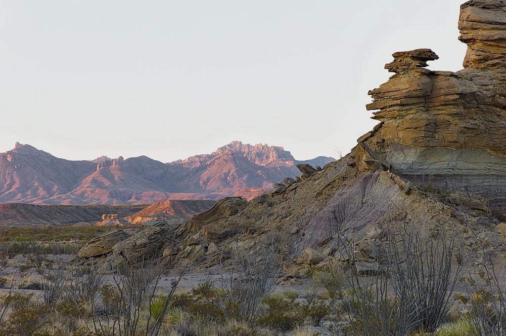Tornillo Creek Sandstone Formations<br /> Big Bend National Park<br /> Texas <br /> October 2010