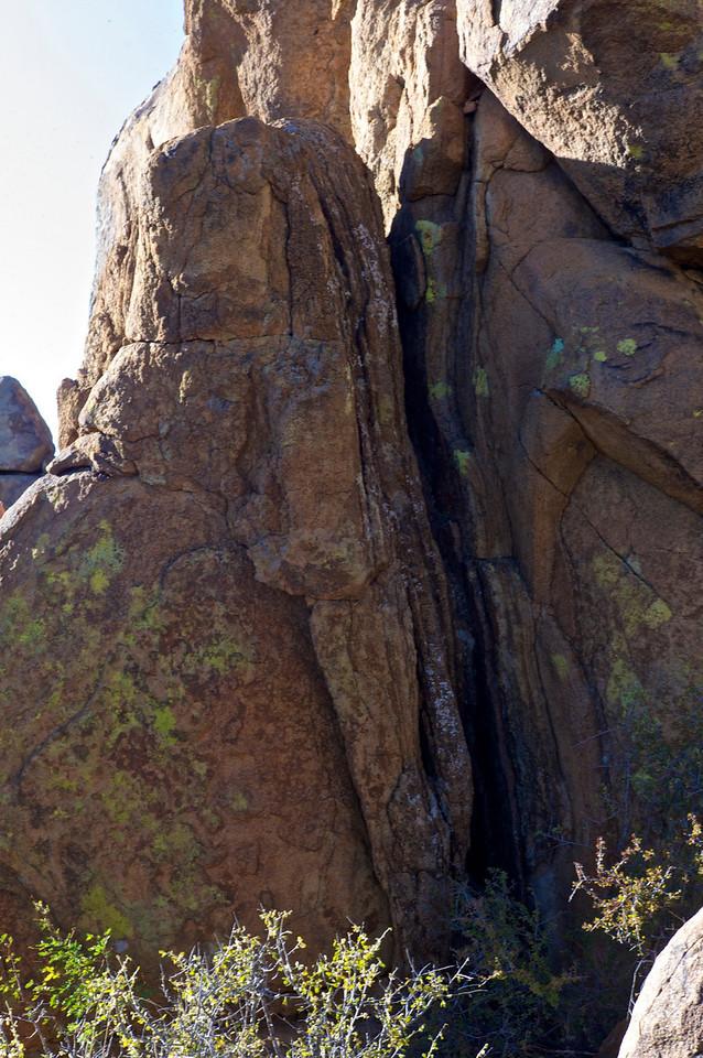 Natural Stone Sculpture<br /> Grapevine Hills<br /> Big Bend National Park<br /> Texas<br /> November 2010