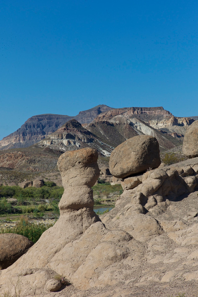 Hoodoos<br /> Big Bend State Park<br /> October 2010