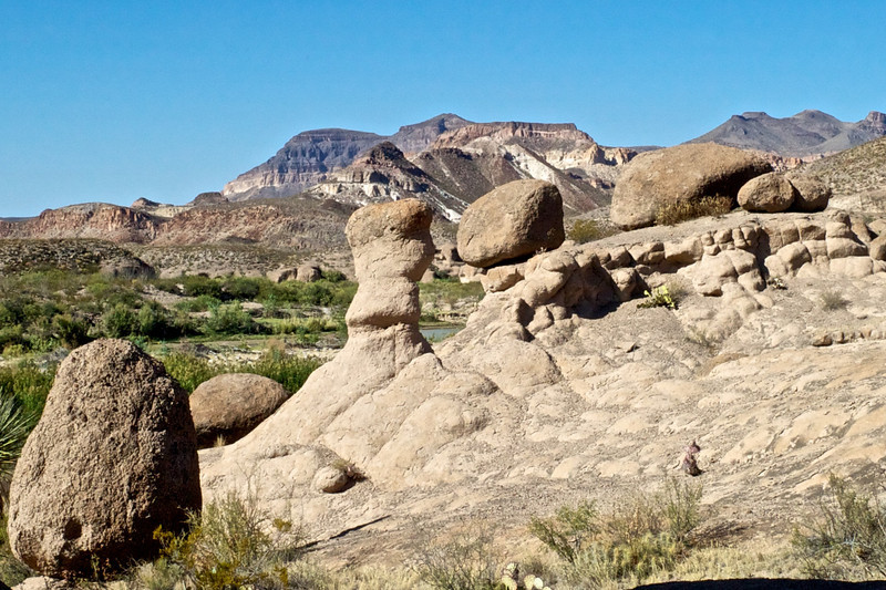 Hoodoos at <br /> Big Bend State Park<br /> October 2010