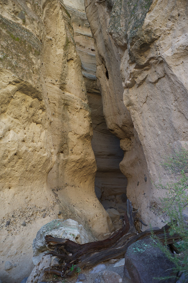 A few portions of the slot canyon earn their name well and are fairly tight.