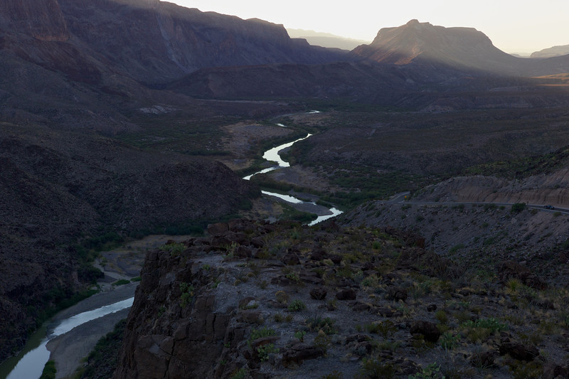 Colorado Canyon Sunset<br /> Big Bend State Park<br /> Texas <br /> 2011