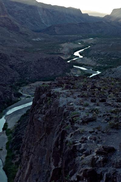 Rio Grande at Colorado Canyon