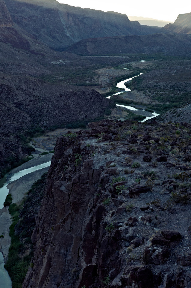 Rio Grande at Colorado Canyon