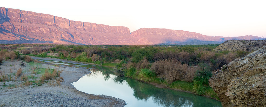 Rio Grande<br /> at Santa Elena Canyon<br /> Big Bend National Park<br /> Texas<br /> 2011